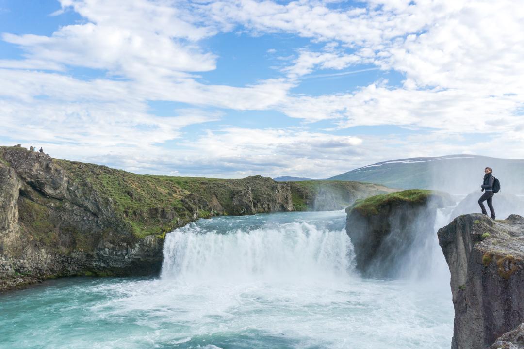 Godafoss, la reine des chutes de l'Islande