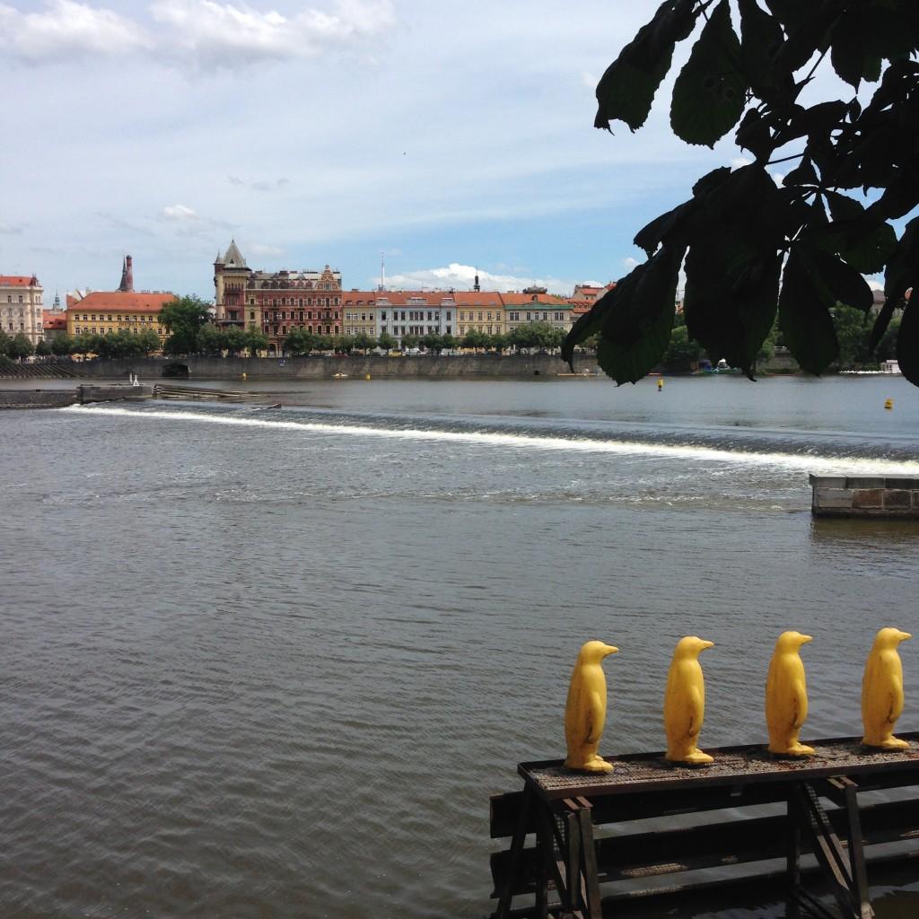 Prague, la marche des touristes - Slow travel
