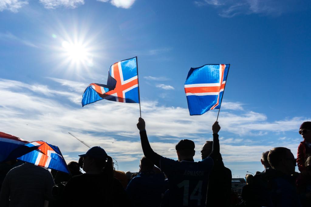 Une émotion incomparable lors des matchs de l'Euro 2016 cet été à Reykjavík