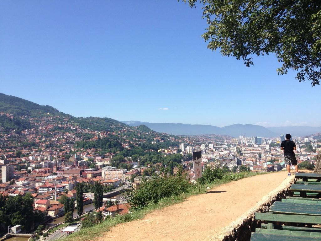 Sarajevo, la forteresse jaune par Aimée Lévesque