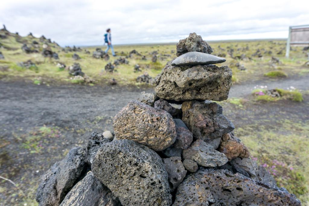 Sud-est - Monticules de Laufskálavarða