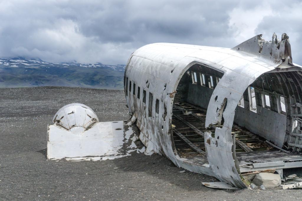 Sud-ouest - Fuselage de Sólheimasandur