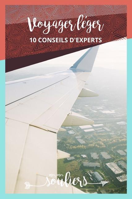 Conseils d'experts pour voyager léger