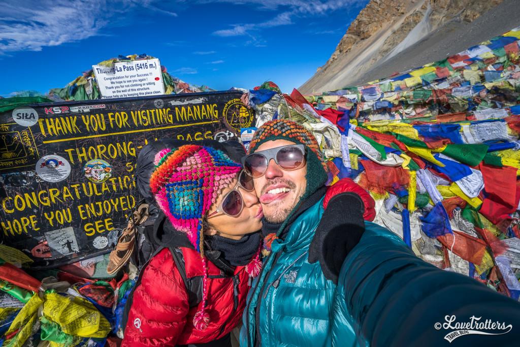 Nadia et Mike de Lovetrotters - Annapurna au Népal