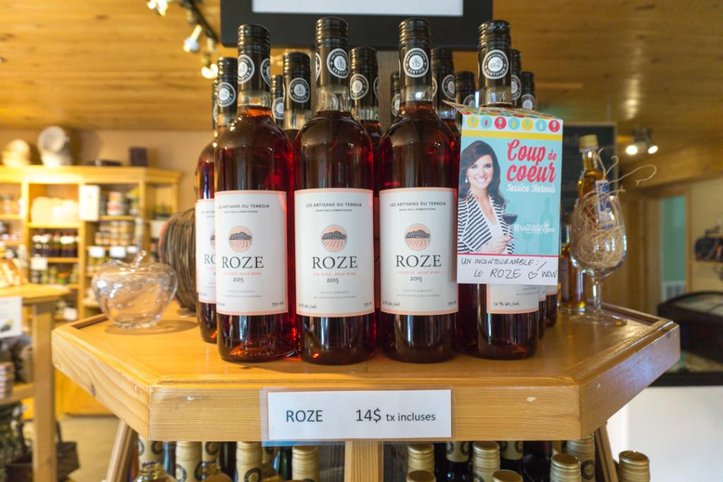 Artisans du terroir - Vin rosé Roze