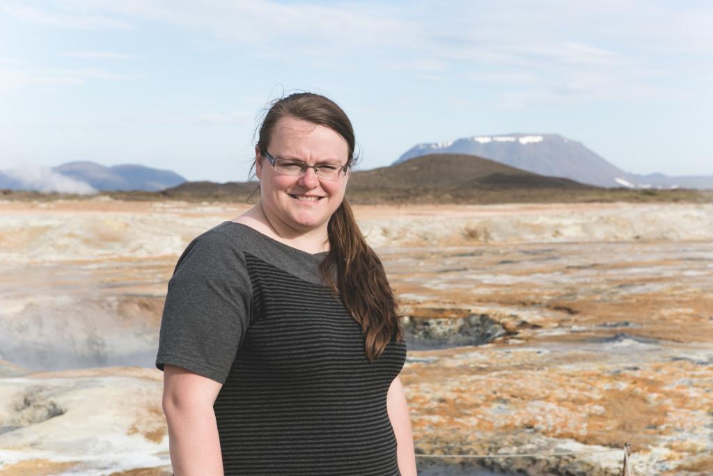Chandail Sportive Plus en Islande à Hverir Namafjall