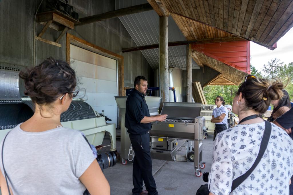 Visite guidée du vignoble Domaine De Lavoie