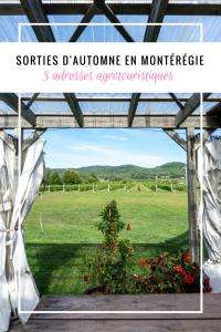 Sortie d'automne en Montérégie - 3 adresses gourmandes