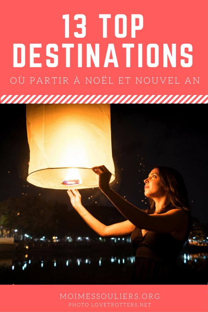 13 destinations où partir en voyage à Noël et Nouvel An