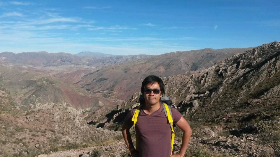 Stefan Tanned en Bolivie