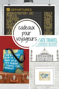 Idées cadeaux pour voyageur