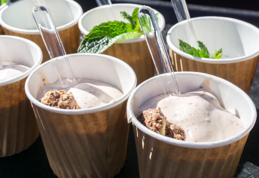 Cocktails glacés faits par Bruno