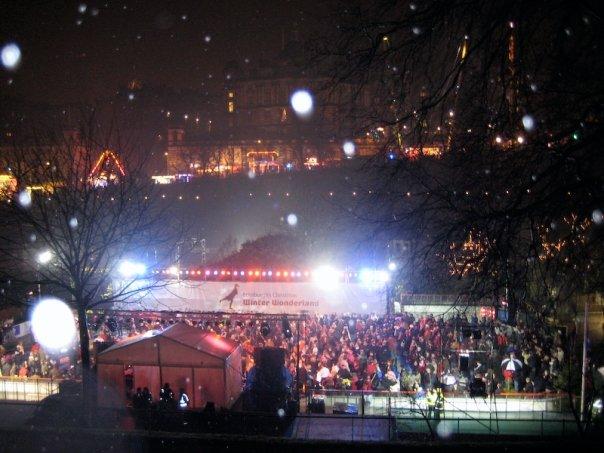 Concert du Nouvel An de Hogmanay, Édimbourg, Écosse