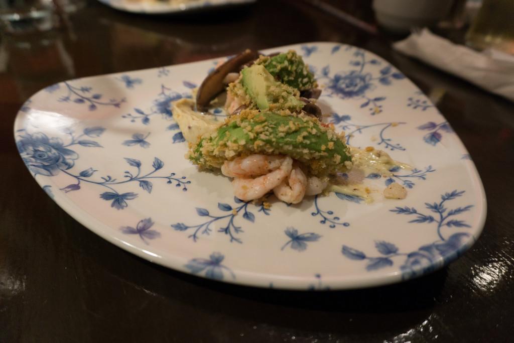 Crevettes nordiques du Café Bohème à Tadoussac