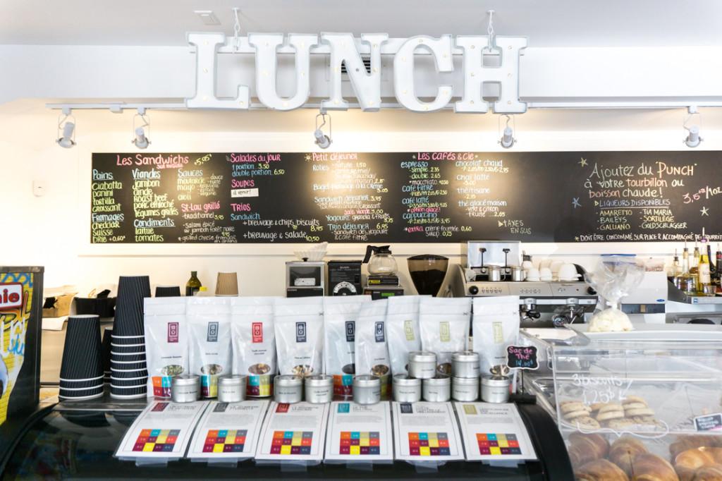Lunch et déjeuner au Simplement St-Laurent
