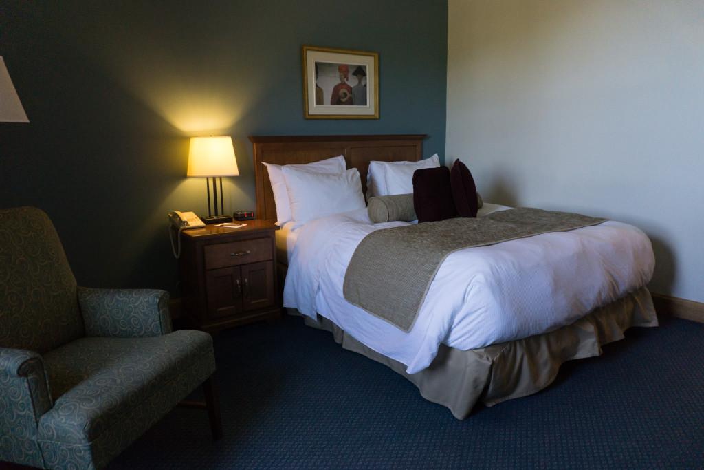 Ma chambre à l'Hôtel Tadoussac - Côte-Nord