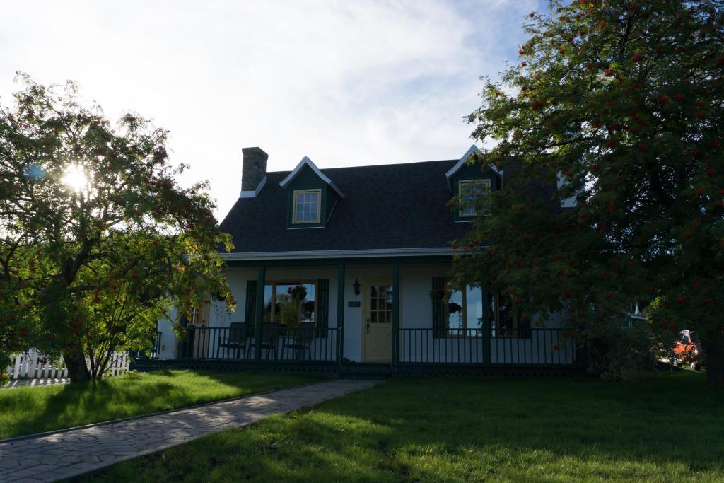 Maison ancestrale à Tadoussac