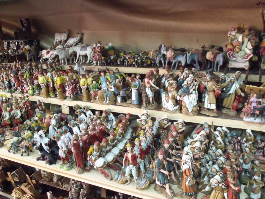 Petits personnages de crèche - Sicile, Italie