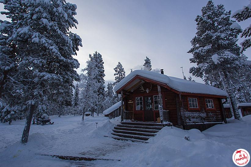 Chalet en Laponie par Je Papote