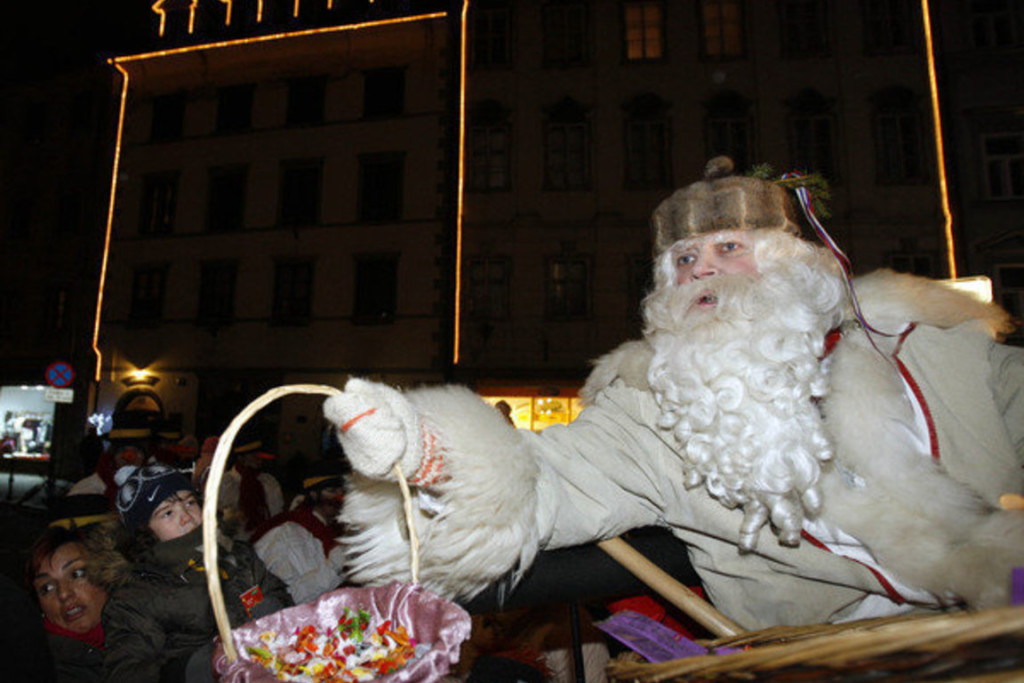 Noël à Ljubljana en Slovénie