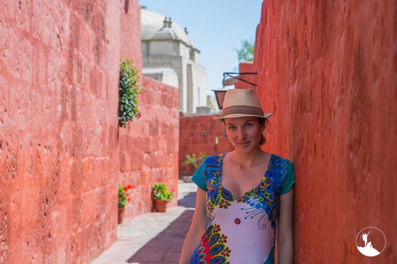 Amandine d'Un sac sur le dos au Pérou