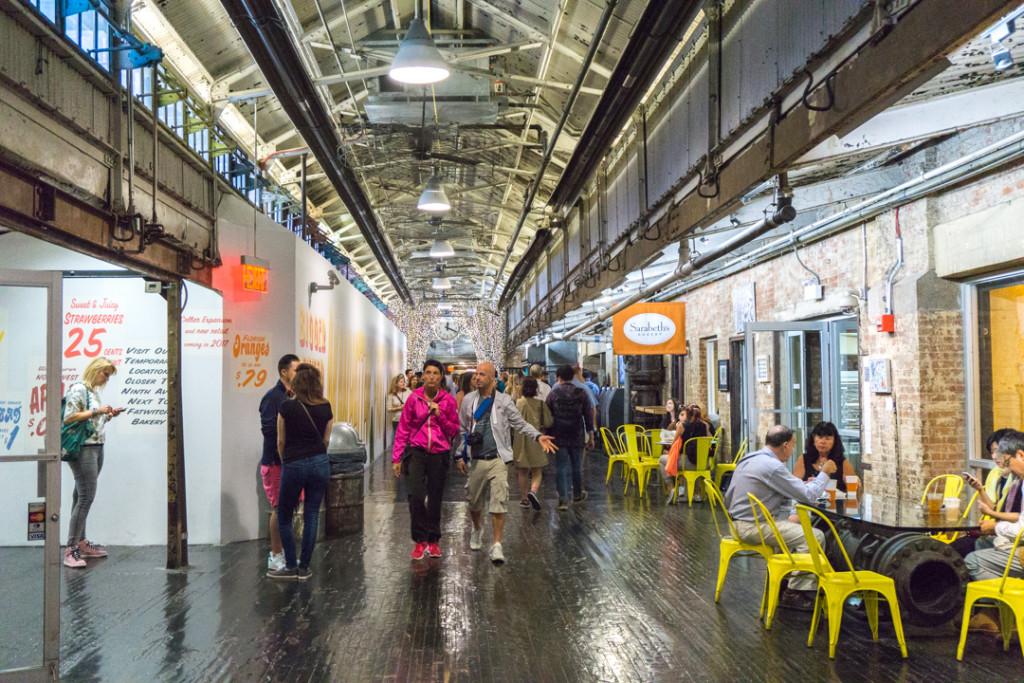 Allée centrale du Chelsea Market