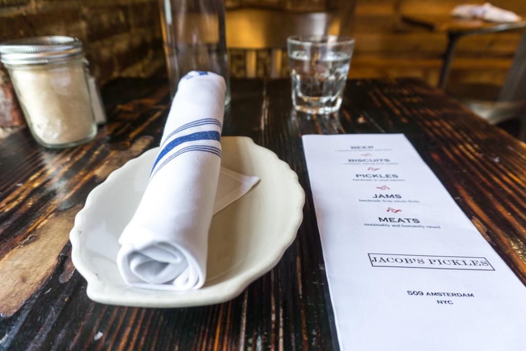 Assiette de chez Jacob's Pickles - Brunch à New York CityAssiette de chez Jacob's Pickles - Brunch à New York City