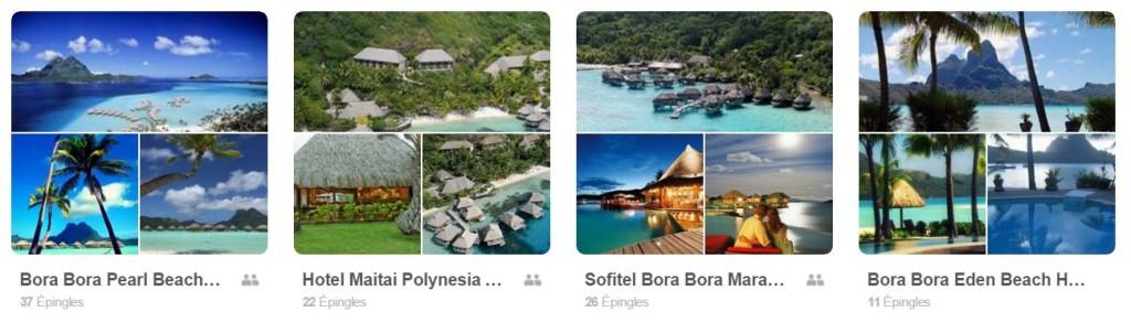 Bora Bora sur Pinterest