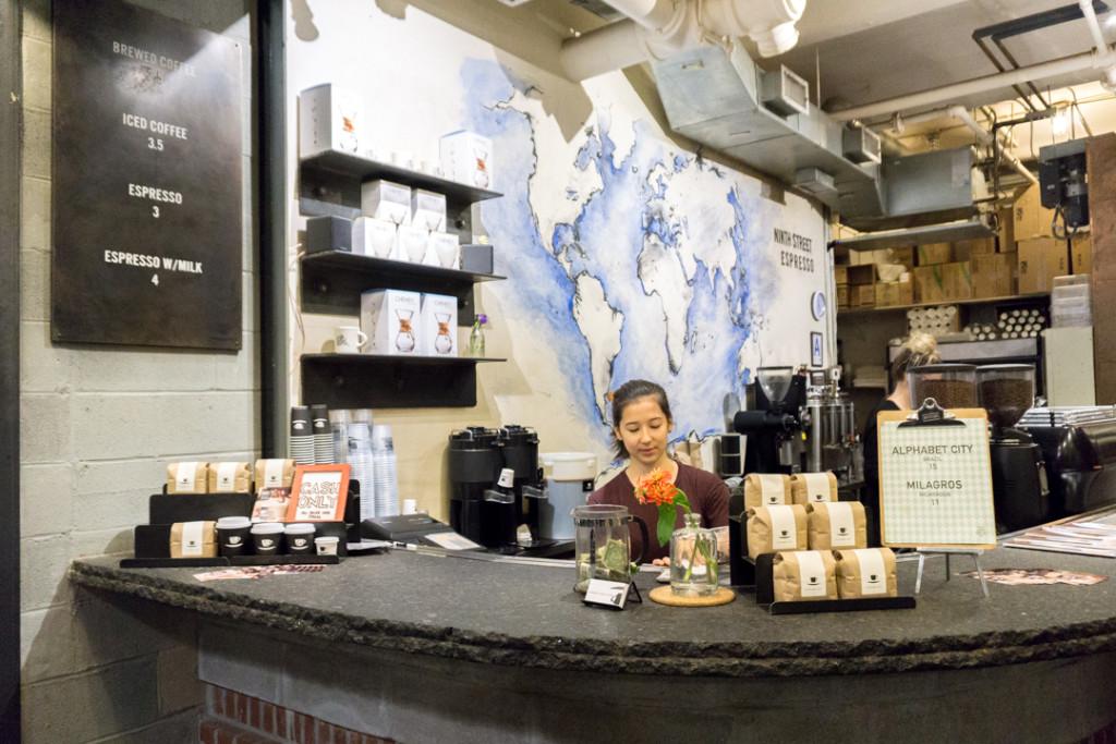 Café à Chelsea Market
