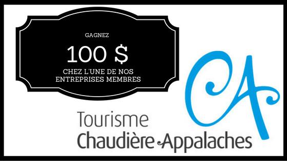 chèque-cadeau Chaudière-Appalaches