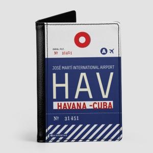 Couverture de passeport HAV