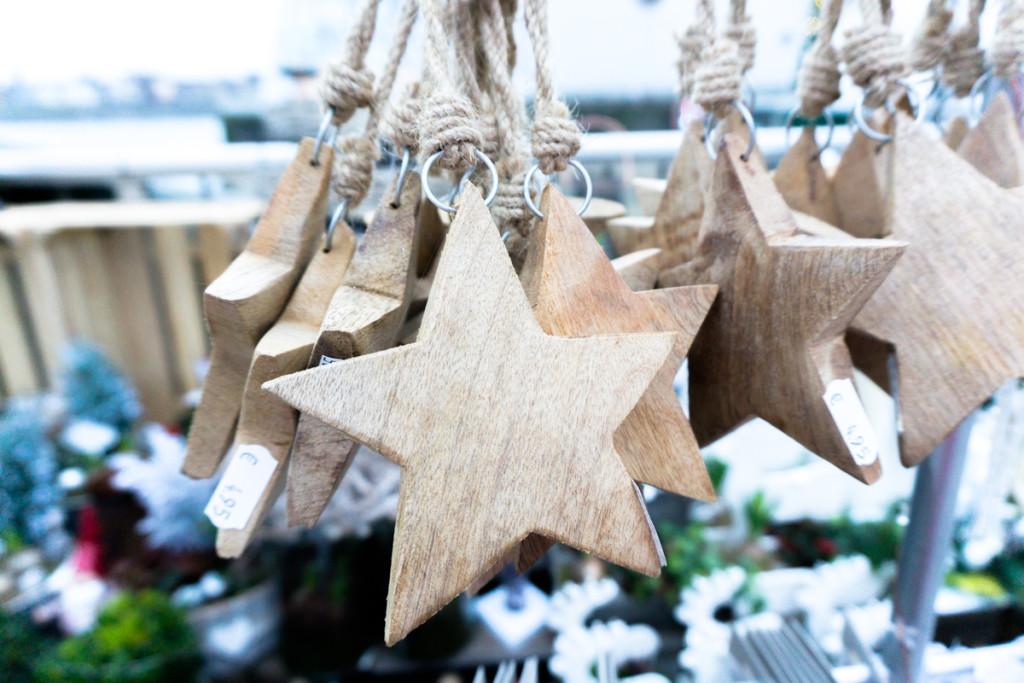 Étoiles du marché de Noël du port et musée au chocolat de Cologne, Allemagne