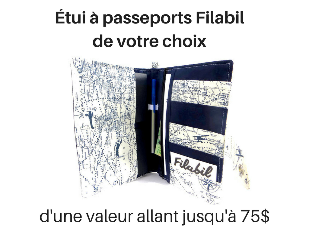 Filabil - Étui passeport