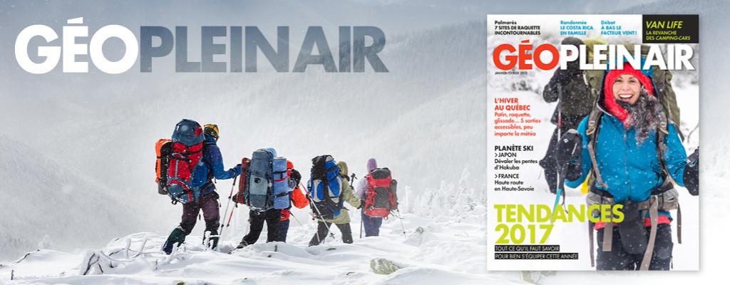 Géo Plein Air - Abonnement magazine