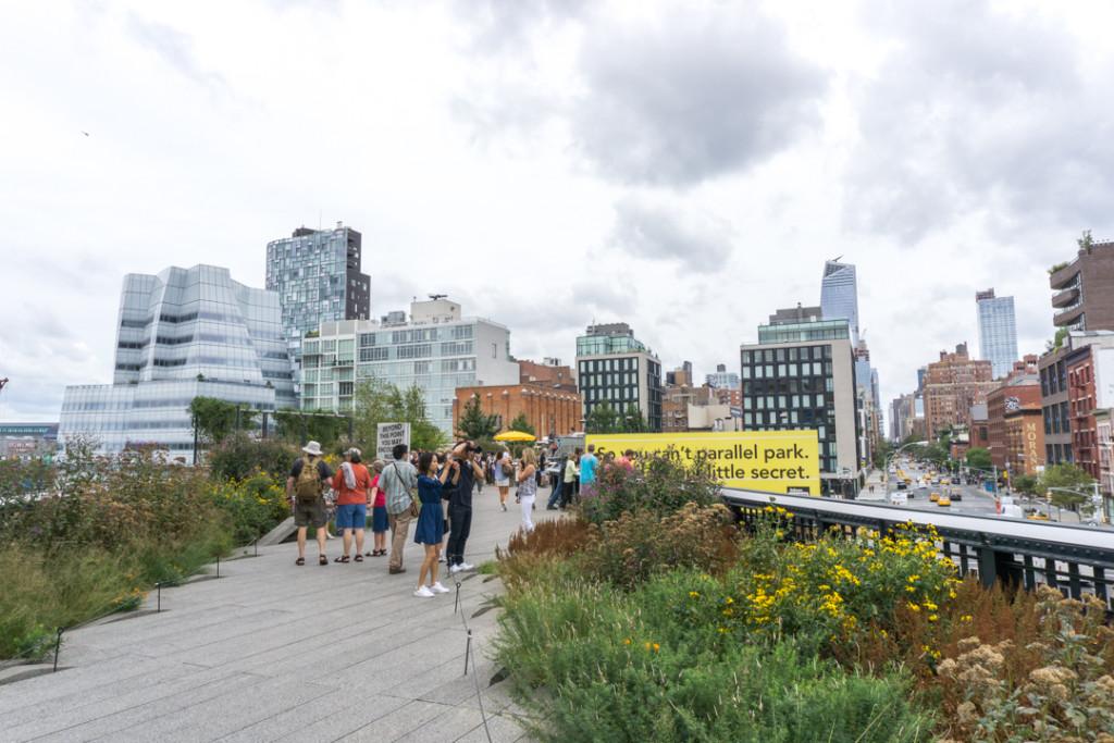 Jardin sur la Highline