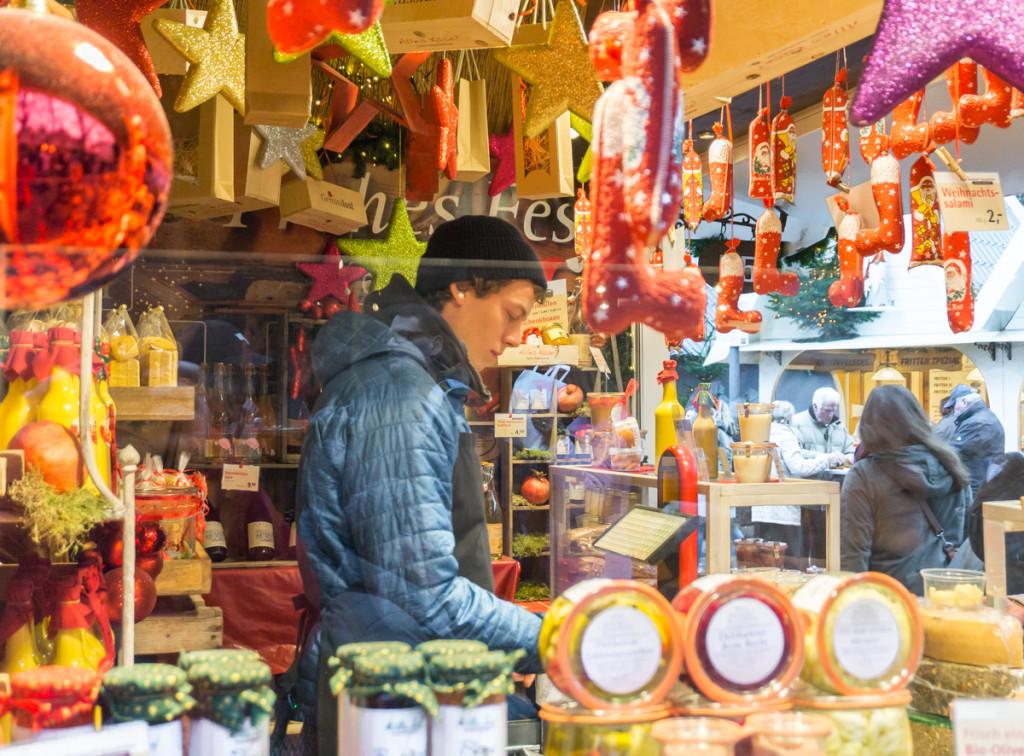 Kiosque du marché de Noël de l'Altmarkt, Cologne