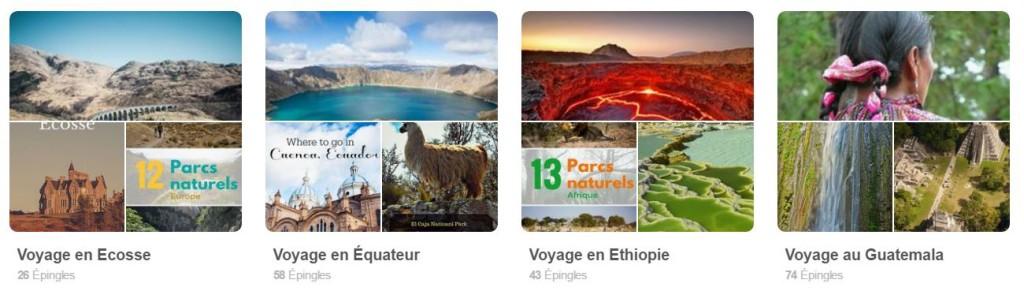 Les globe blogueurs sur Pinterest
