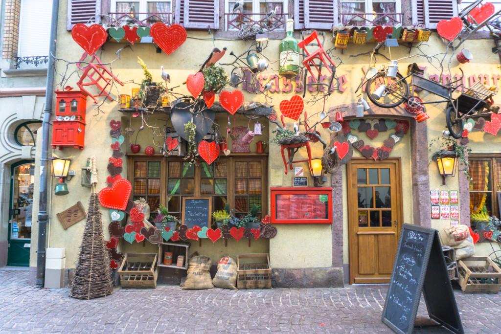 Rues du marché de Noël de Colmar