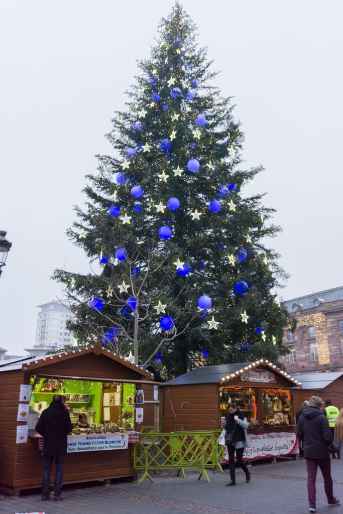 Sapin de Noël de Strasbourg