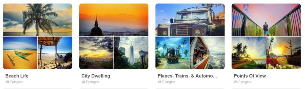 Social Nomads sur Pinterest