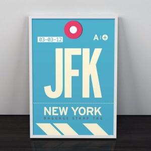 Tableau Aéroport New York JFK