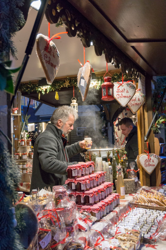 Vin chaud glühwein en Alsace