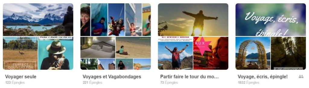 Voyages et Vagabondages sur Pinterest