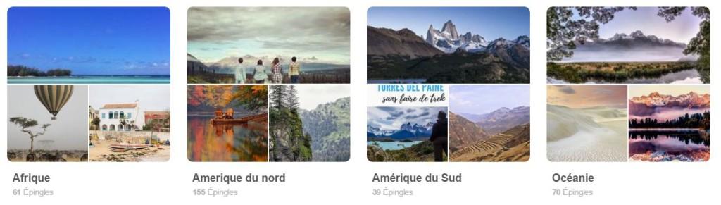 Voyages etc. sur Pinterest