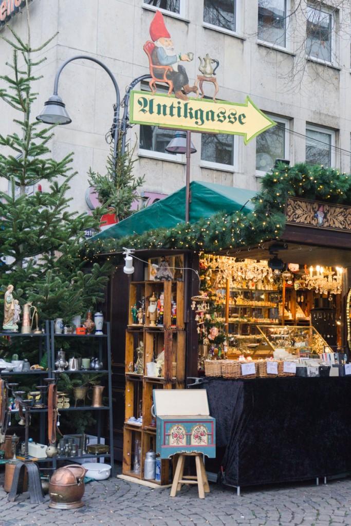 Weihnachtsmarkt à Cologne en Allemagne