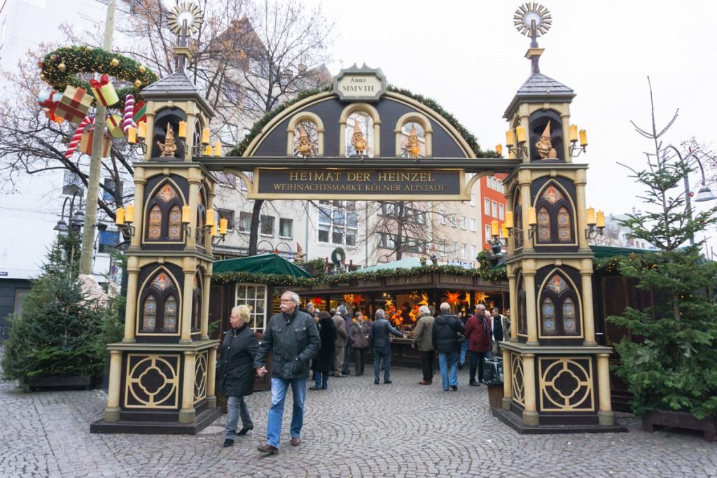Weihnachtsmarkt Kölner Altstadt Heimat der Heinzel - Cologne