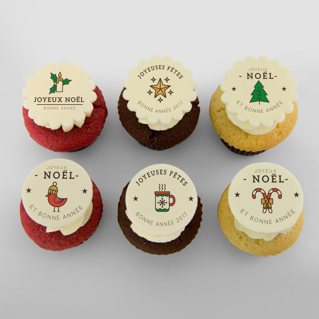 Cupcakes des Fêtes Sweet Isabelle
