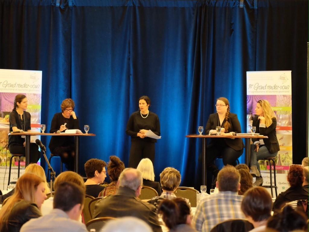 Panel au premier rdv en agrotourisme gourmand