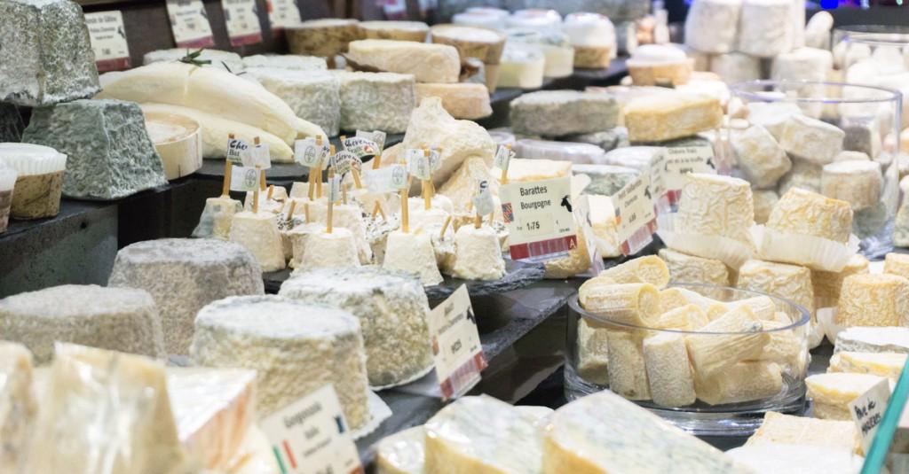 Étalage de fromages Androuet - Paris Saint-Germain-des-Prés