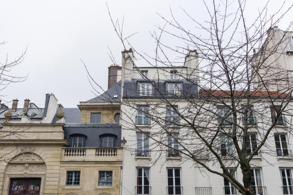 Immeubles typiques de Paris